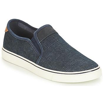 Schuhe Herren Slip on André CLAPAUX Blau