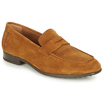 Schuhe Herren Slipper André PLATEAU Cognac