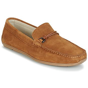Schuhe Herren Slipper André TRISSOT Camel