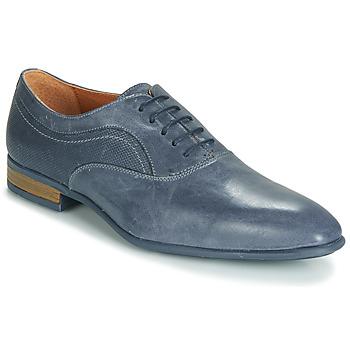 Schuhe Herren Richelieu André SILVERSTONE Blau