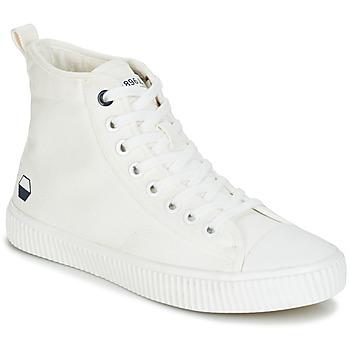 Schuhe Herren Sneaker High André SUBWAY Weiss
