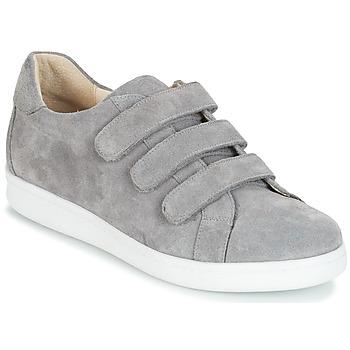Schuhe Herren Sneaker Low André AVENUE Grau