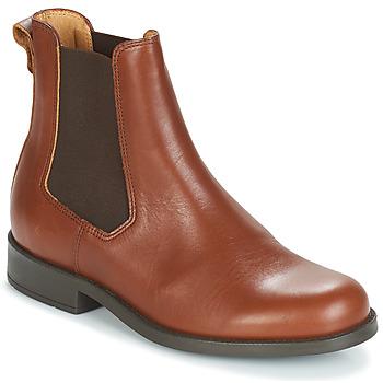 Schuhe Damen Boots Aigle ORZAC W 2 Cognac