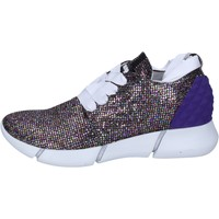 Schuhe Damen Sneaker Low Elena Iachi sneakers multicolor glitter BT587 multicolor