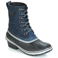 Schuhe Damen Schneestiefel Sorel SLIMPACK 1964 Blau / Schwarz