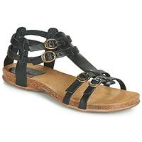 Schuhe Damen Sandalen / Sandaletten Kickers ANA Schwarz