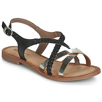 Schuhe Damen Sandalen / Sandaletten Kickers ETHY Schwarz