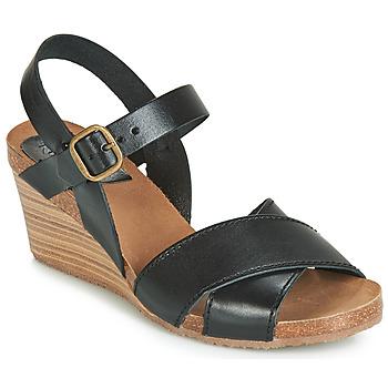 Schuhe Damen Sandalen / Sandaletten Kickers SALAMBO Schwarz