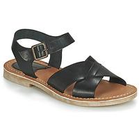 Schuhe Damen Sandalen / Sandaletten Kickers TILLY Schwarz