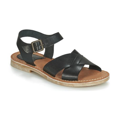 Kickers TILLY Schwarz  Schuhe Sandalen / Sandaletten Damen