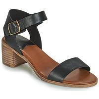 Schuhe Damen Sandalen / Sandaletten Kickers VOLOU Schwarz