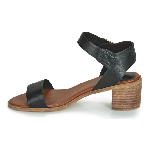 Kickers VOLOU Schwarz    Schuhe Sandalen   Sandaletten Damen 637ef5