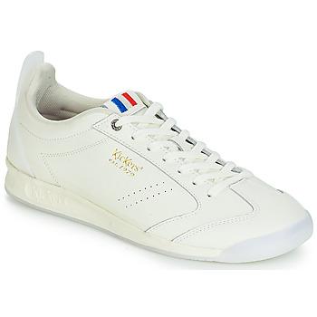 Schuhe Herren Sneaker Low Kickers KICK 18 Weiss