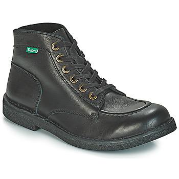 Schuhe Herren Boots Kickers KICKSTONER Schwarz