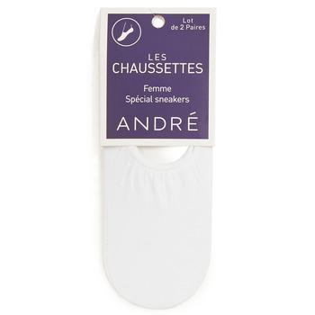 Accessoires Damen Socken & Strümpfe André FOOTIES Weiss