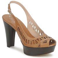 Schuhe Damen Sandalen / Sandaletten Fabi CALECHE Braun