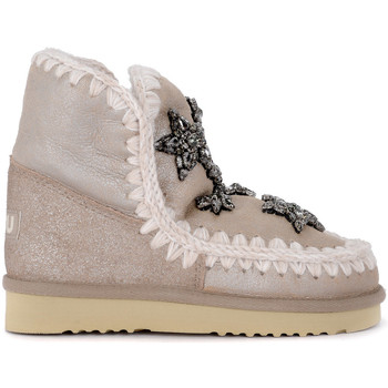 Mou Moonboots Stiefelette Eskimo 18 Crystal Stars stone in
