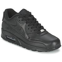 Schuhe Herren Sneaker Low Nike AIR MAX 90 Schwarz