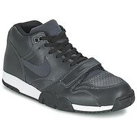 Schuhe Herren Sneaker Low Nike AIR TRAINER 1 MID Schwarz