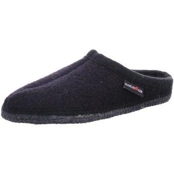 Schuhe Herren Hausschuhe Haflinger Alaska Alaska 611001 schwarz