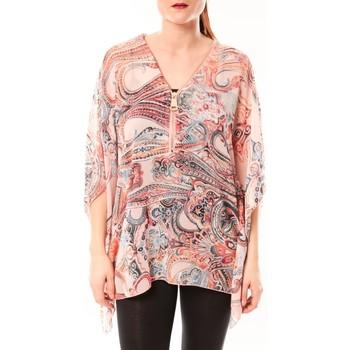 Kleidung Damen Hemden De Fil En Aiguille TuniqueLove Look 1218 Rose Rose