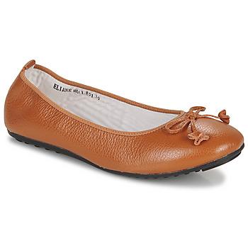 Schuhe Damen Ballerinas Mac Douglas ELIANE Kastanie