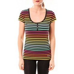 Kleidung Damen T-Shirts & Poloshirts Little Marcel Tee-shirt Tatoum Multi 315FN Noir Schwarz