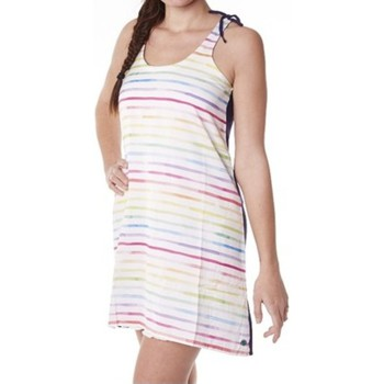Kleidung Damen Kleider Little Marcel Robe Rumali E15FDRE0208 Blanc Weiss