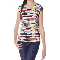 Kleidung Damen T-Shirts Little Marcel Tee-shirt Tista E15FTSS0220 Blanc Weiss