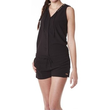Kleidung Damen Overalls / Latzhosen Little Marcel Combishort Cosbi E15WSHO0203 Noir Schwarz