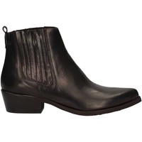 Schuhe Damen Low Boots Cube 803 BLACK