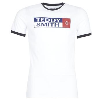 Kleidung Herren T-Shirts Teddy Smith TOZO Weiss