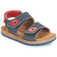 Schuhe Jungen Sandalen / Sandaletten Kickers FIRST Marine