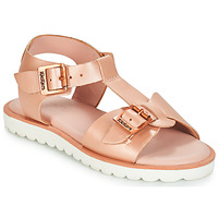 Schuhe Mädchen Sandalen / Sandaletten Kickers ISABELA Rose / Mettalfarben