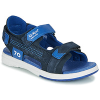 Schuhe Jungen Sandalen / Sandaletten Kickers PLANE Marine
