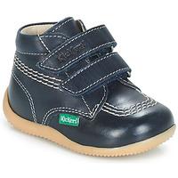 Schuhe Jungen Boots Kickers BILLY VELK Marine