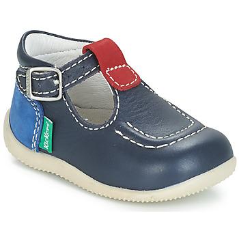 Schuhe Kinder Ballerinas Kickers BONBEK Marine