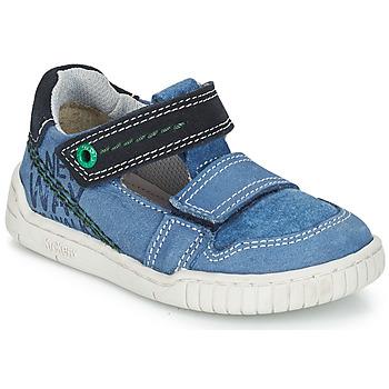 Schuhe Jungen Sandalen / Sandaletten Kickers WHATSUP Blau