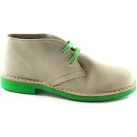 Schuhe Boots Manifatture Italiane MANIFATTURE ITALIAN 2361 Eis Schuhe Wanderschuhe Unisex Desert B Beige