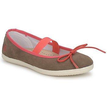 Schuhe Mädchen Ballerinas Petit Bateau KITY KID Kaki