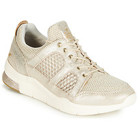 Schuhe Damen Sneaker Low Mustang 1305304-482 Gold