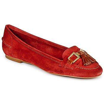 Schuhe Damen Slipper StylistClick NIAKO Rot
