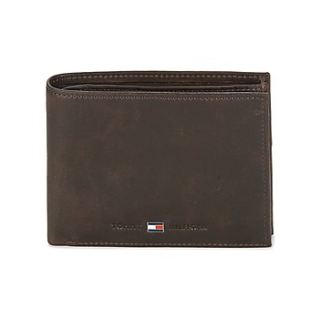 Taschen Herren Portemonnaie Tommy Hilfiger JOHNSON CC AND COIN POCKET Braun