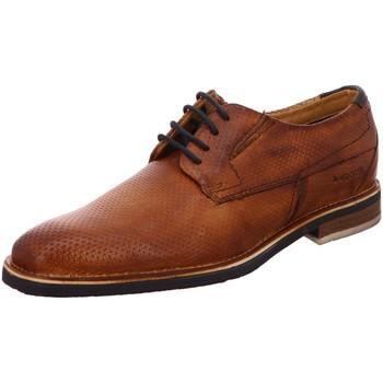 Schuhe Herren Richelieu Bugatti Schnuerschuhe Mattia Exko Schnürschuh 312-41704-4100-6300 braun