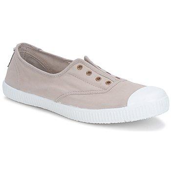 Schuhe Damen Sneaker Low Victoria 6623 Beige