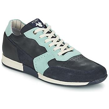 Schuhe Herren Sneaker Low Kost HOOPAR Blau