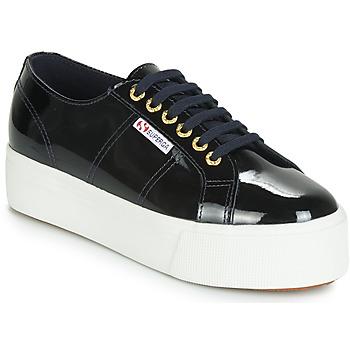 Schuhe Damen Sneaker Low Superga 2790 LEAPATENT Marine