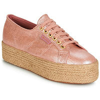 Schuhe Damen Sneaker Low Superga 2790 LINRBRROPE Rose