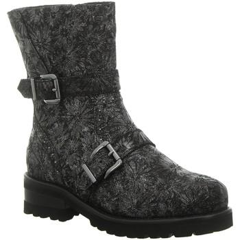 Schuhe Damen Boots Tizian Stiefeletten T62904VL874/700 grau