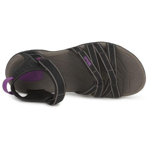 Teva TIRRA Schwarz / Grau Damen  Schuhe Sportliche Sandalen Damen Grau 67,99 900e60